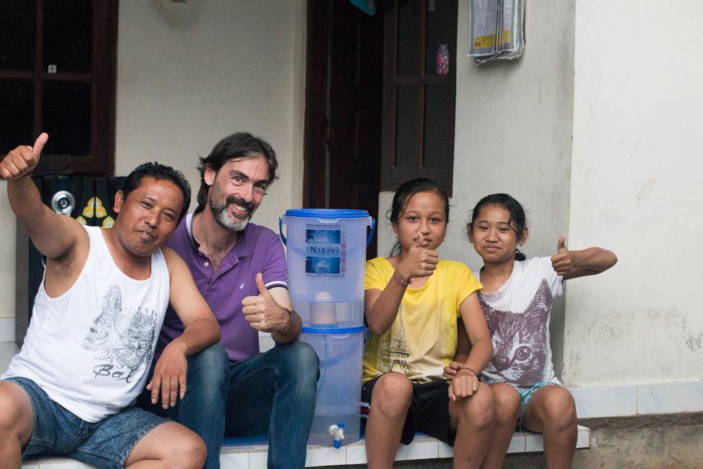 rent vatten Indonesien