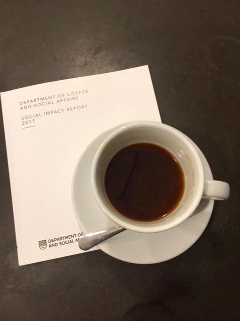Direct trade kaffe på Department of Coffee London