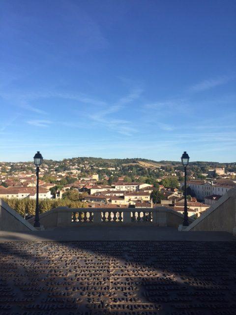 Utsikt Auch från Escalier Monumental