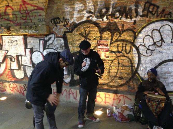 Guidad tur London med hemlösa