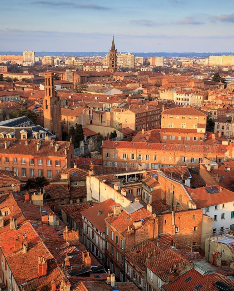 Toulouse den rosa staden