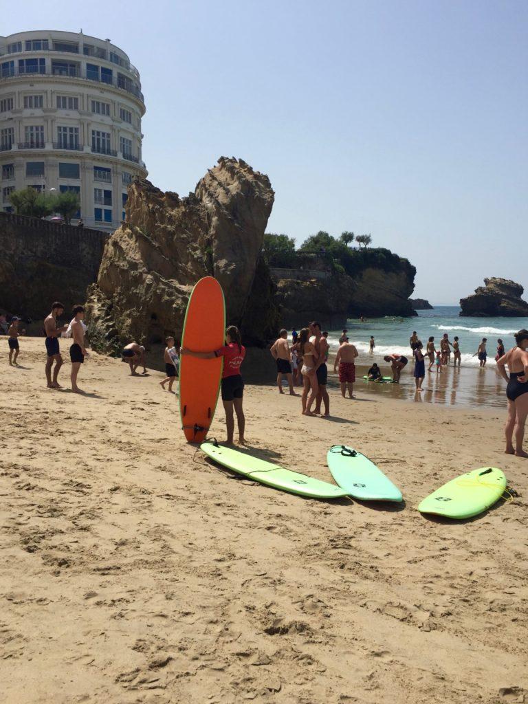 Biarritz surf La Grande Plage