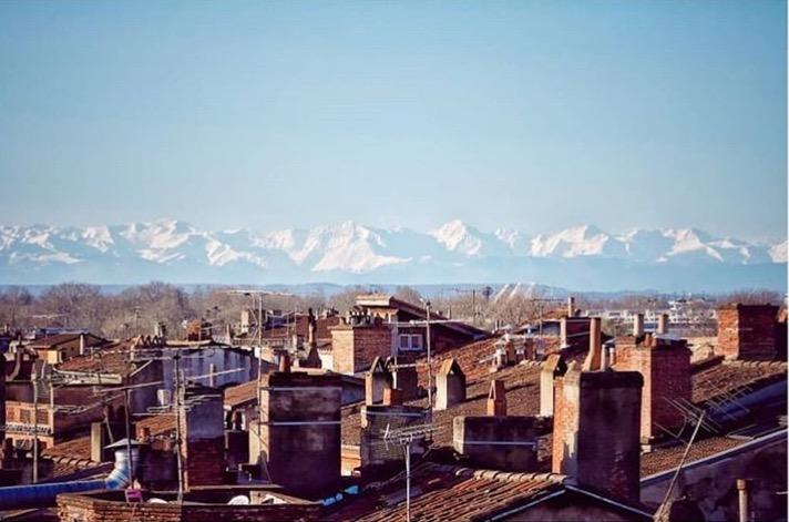 Toulouse vid Pyrenéernas kant