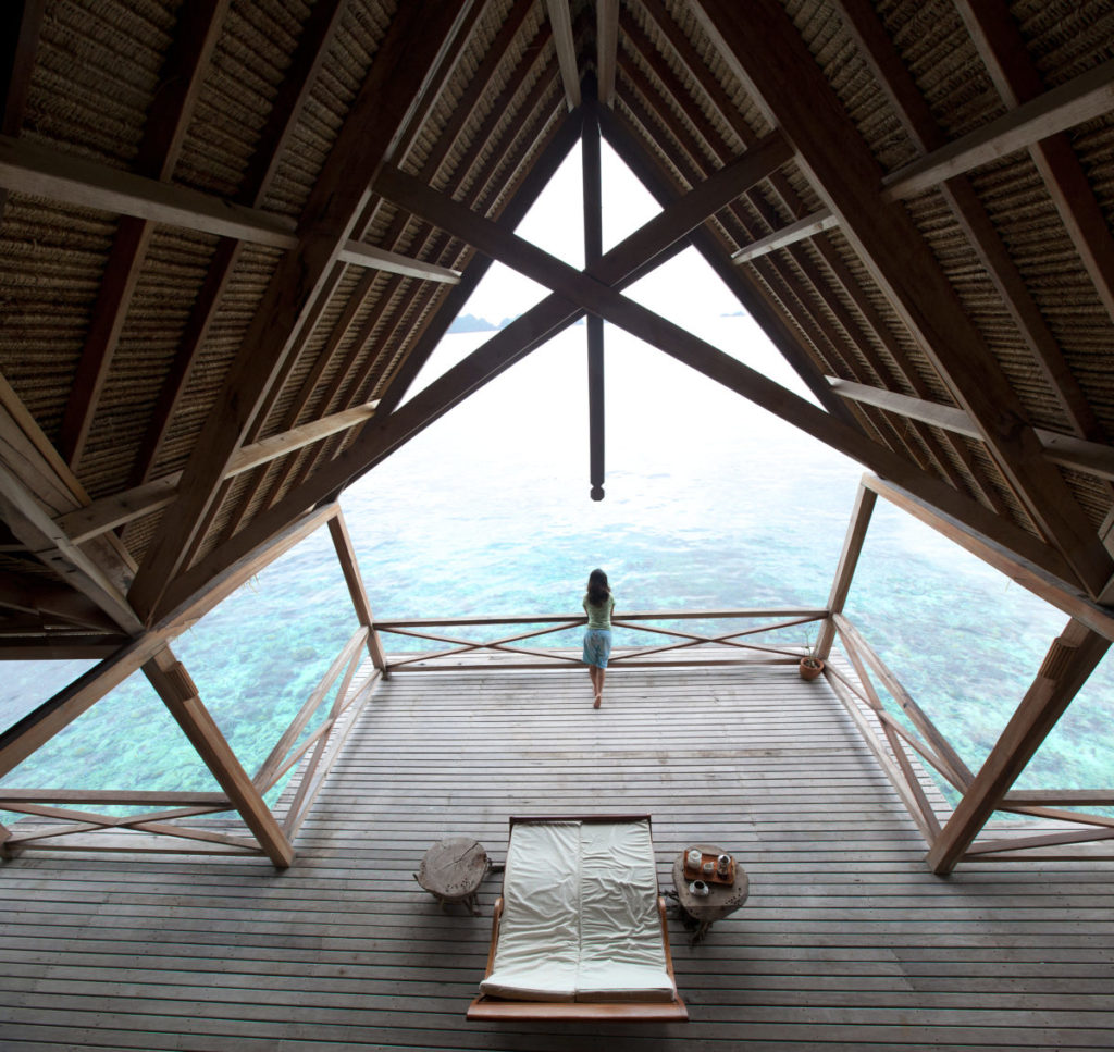 Ekoresort Indonesien Misool Poolvilla