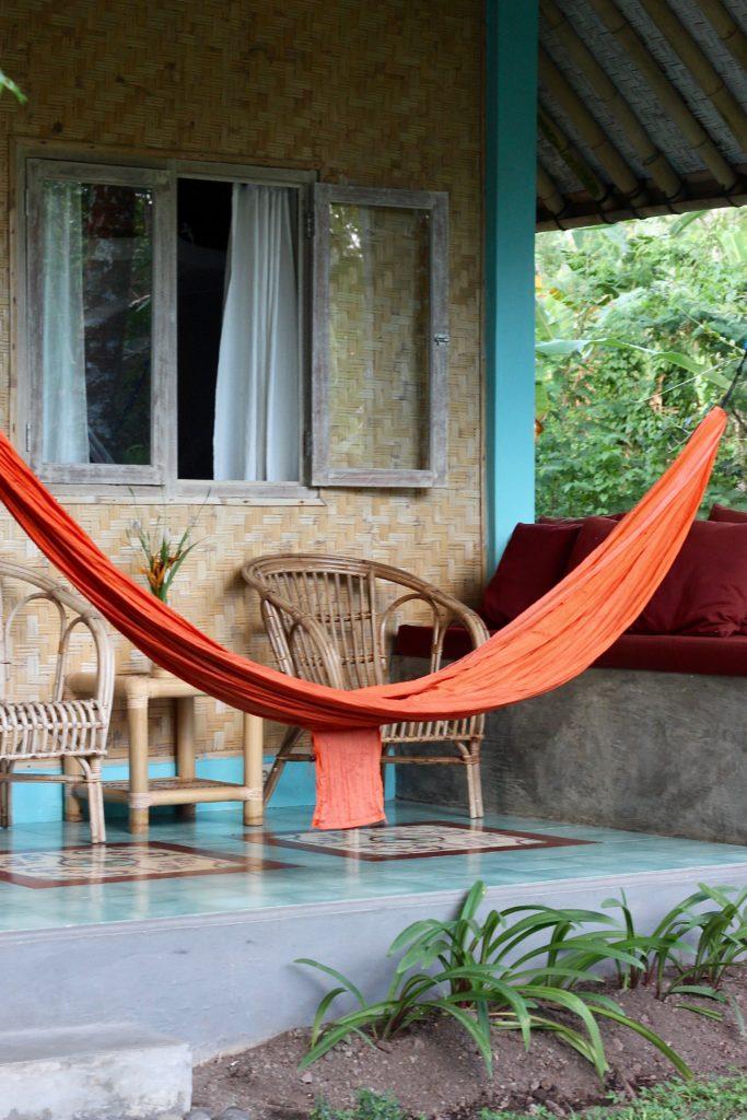 Veranda Darmada ekohotell Bali