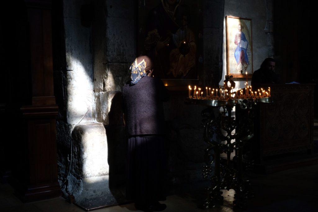Svetitskhoveli-katedralen i Georgien landet som Gud skapade till sig själv