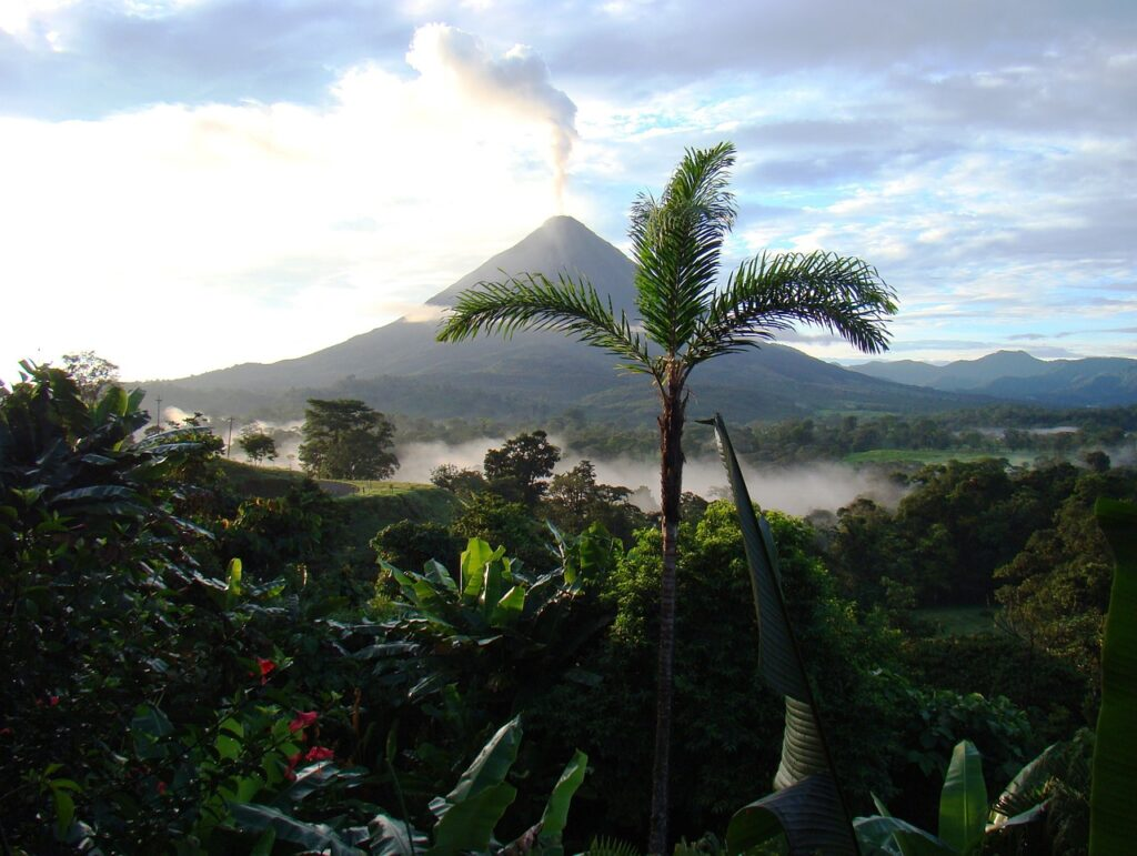 Costa Rica landet i Centralamerika