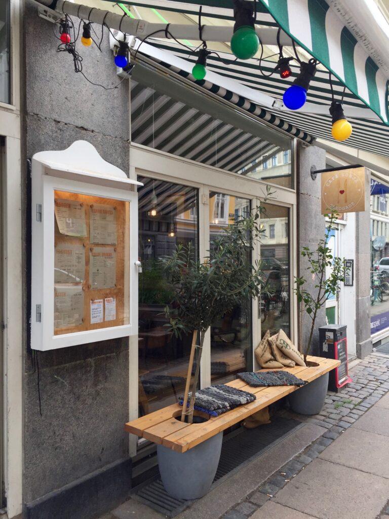 Café Sonja Saxogade Köpenhamn.