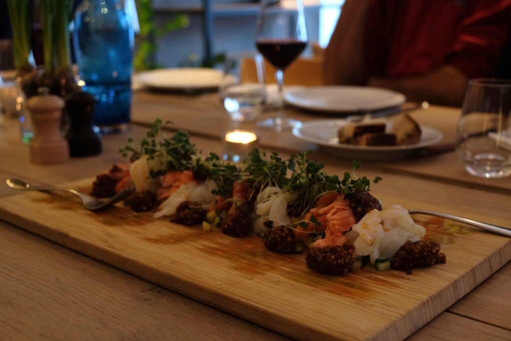 Ekologisk mat Ett bord Oslo
