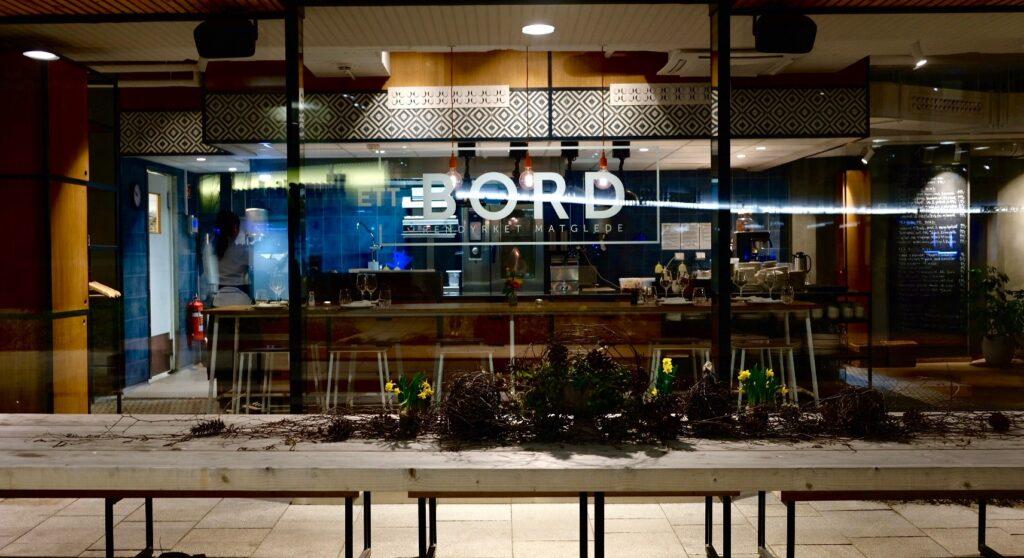 Restaurang Ett Bord Oslo