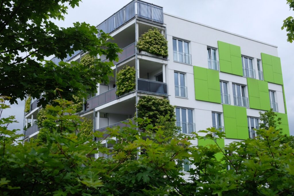 Hus i Wilhelmsburg.