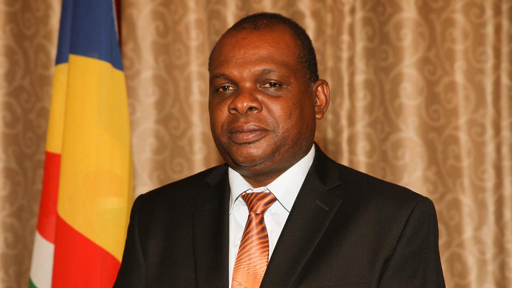 Seychellerna turismminister Didier Dogley