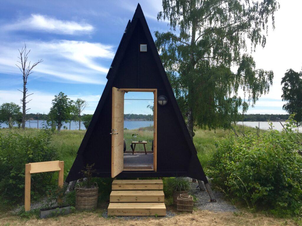 Nolla kabinen Lidö Zero Island