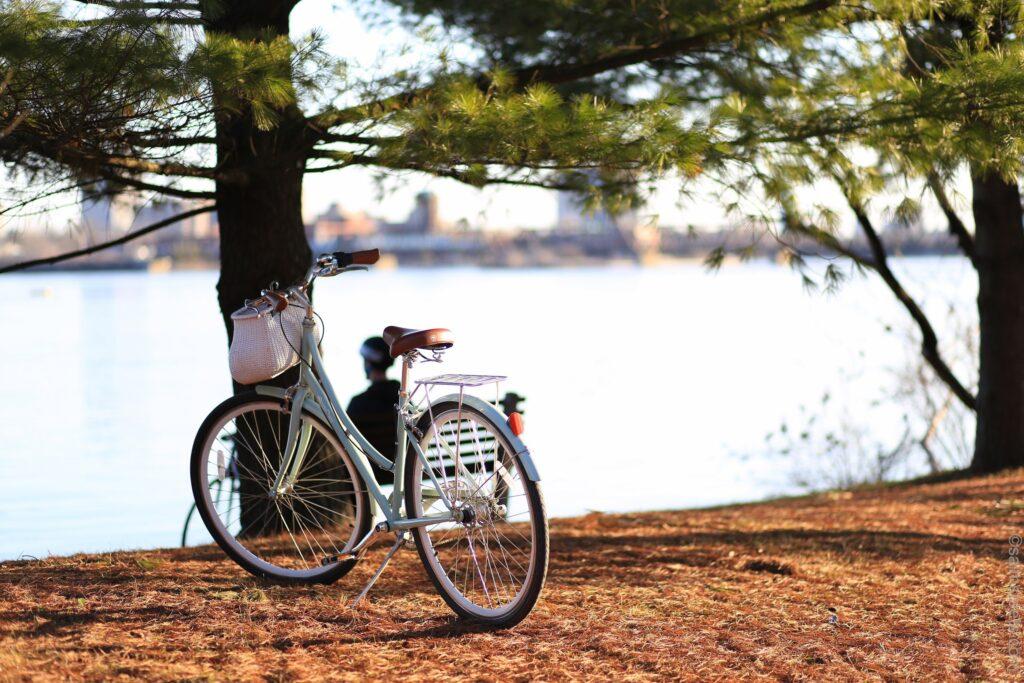 Transporten på plats är också viktig att tänka på när du vill resa hållbart. Att ta sig fram på cykel är både miljövänligt och bra för hälsan.