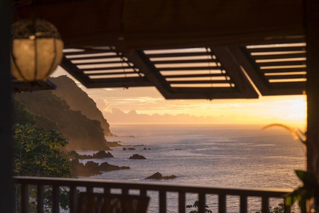 Utsikt över Tobagos hav