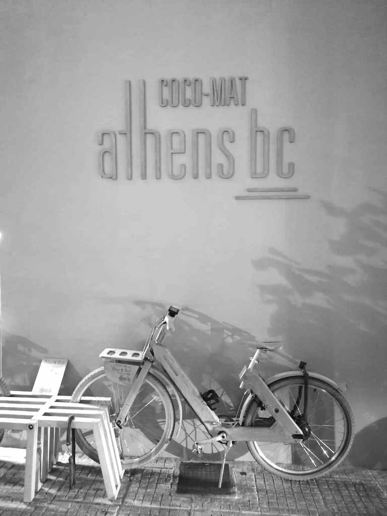 Träcykel Coco -Mat Athens