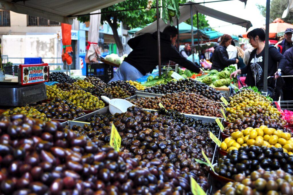 Oliver marknad Aten