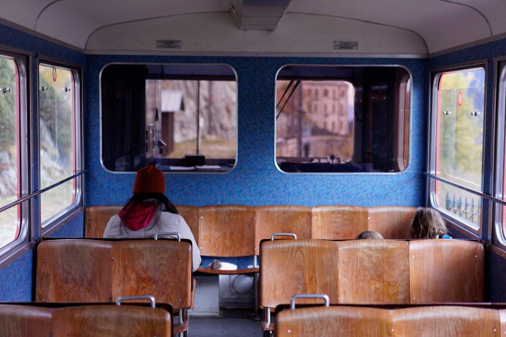 resa med tåg är en del av hållbart resande