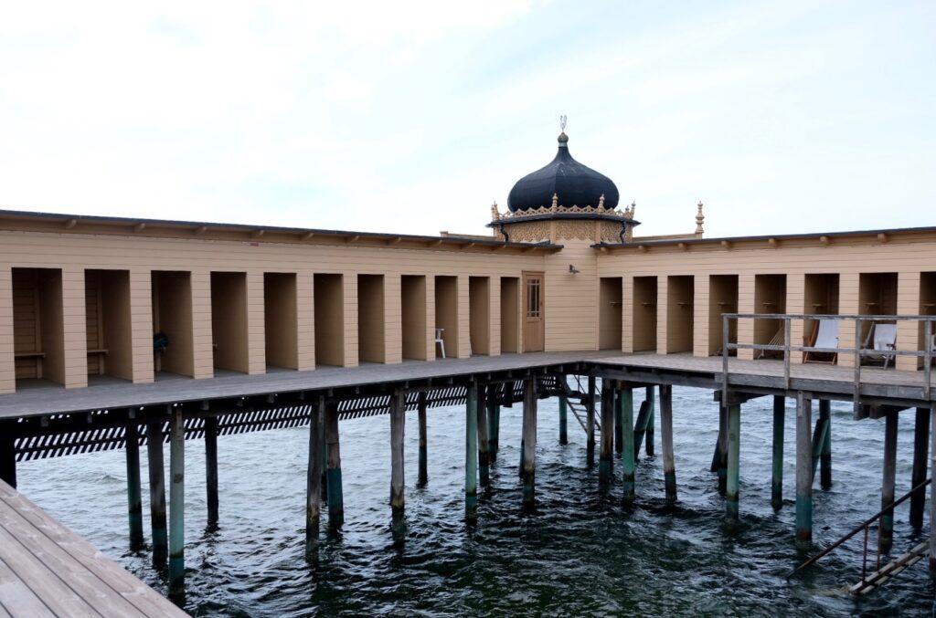Kallbadhuset Varberg invändigt