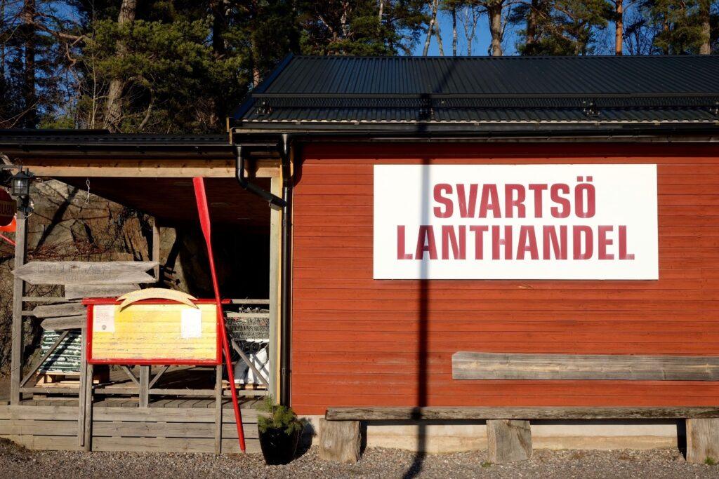 Svartsö lanthandel Stocholms skärgård