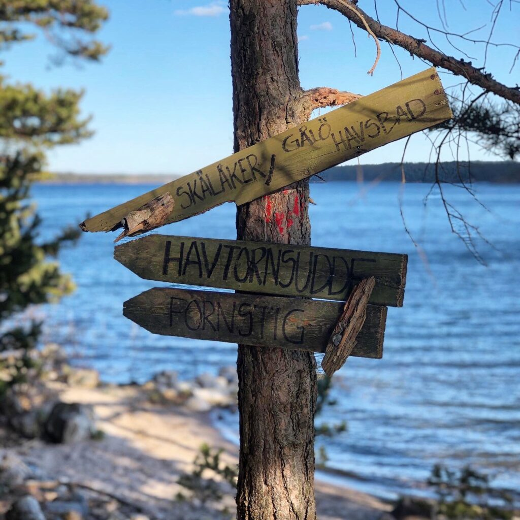 Gålö naturreservat utflykttisp Stockholmsområdet