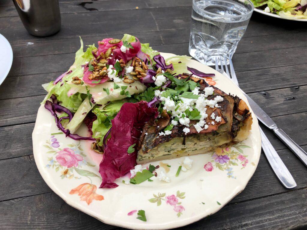 Vegetarisk ekologisk mat Rosenhill