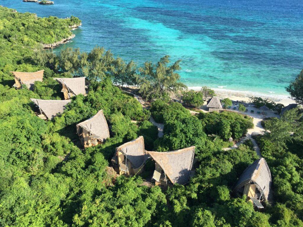 Chumbe Island gör skillnad hemifrån
