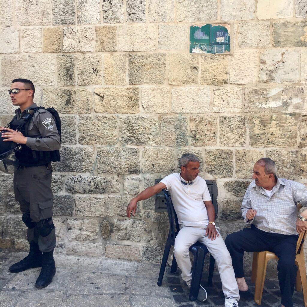Konflikten Israel Palestina vardag