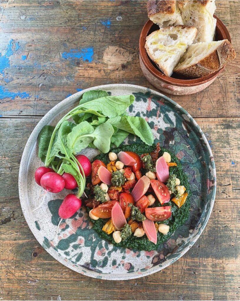 Mineral Tips vegetarisk restaurang Sverige
