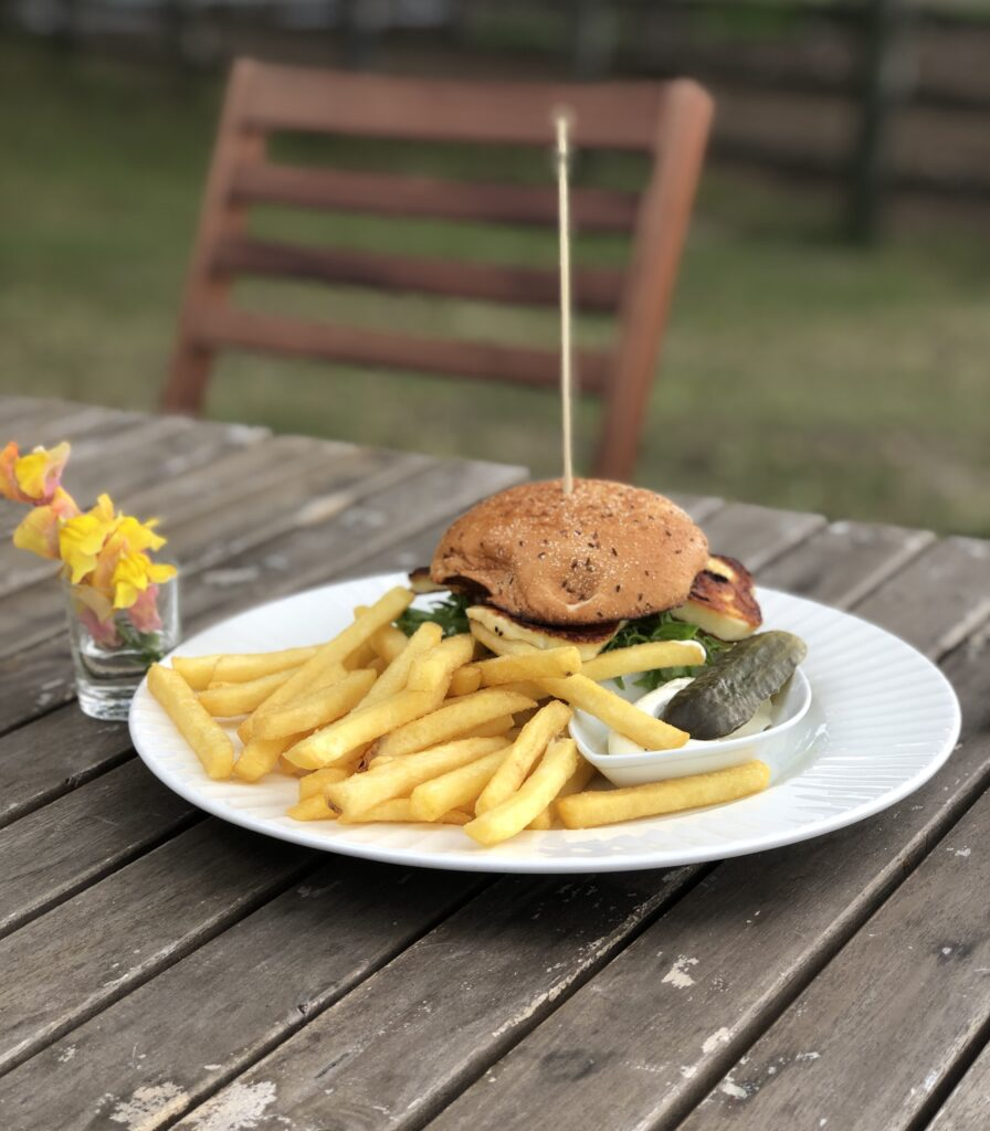 vegetarisk hamburgare magdakullan