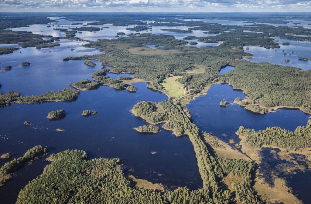Åsnen nationalpark Tips saker Småland